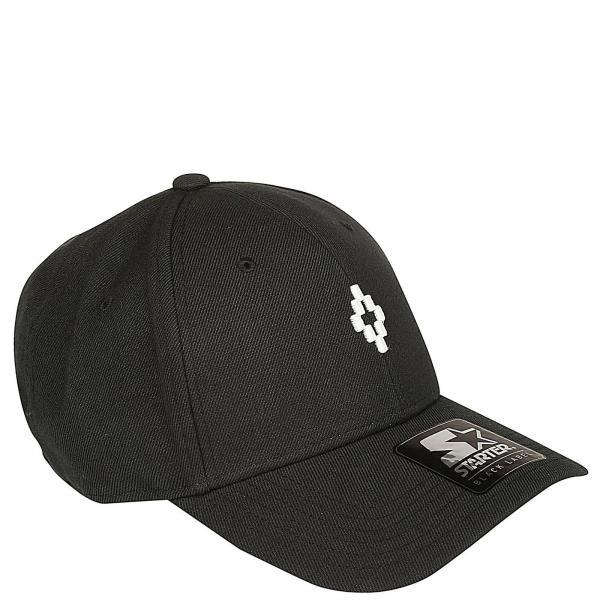 Marcelo Burlon Men s Black Hat  9a826f5f075