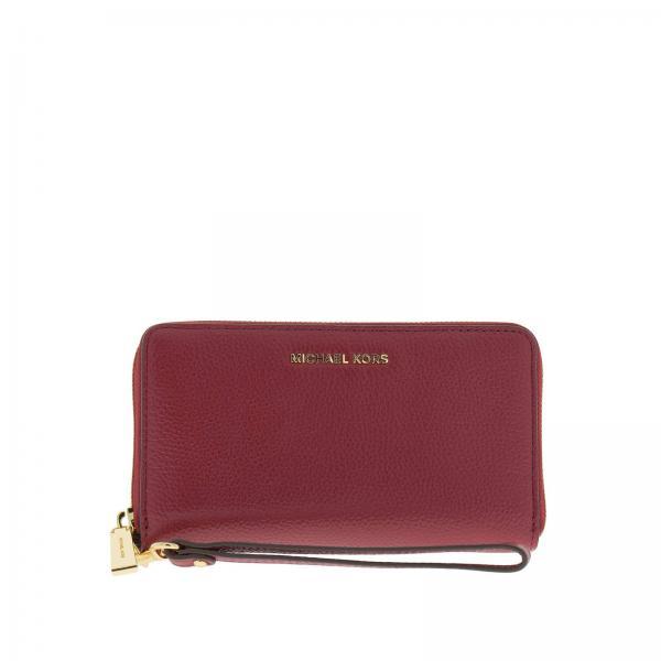 Wallet Women Michael Michael Kors Burgundy 67241b240