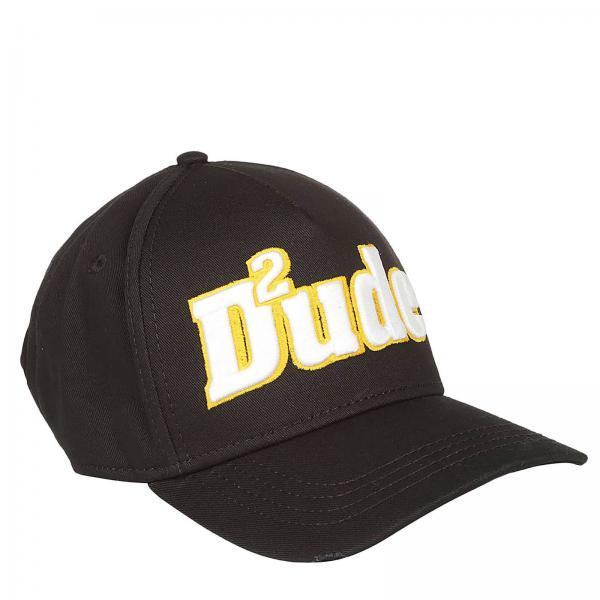 Cappello Uomo Dsquared2 Nero  4a39c7fff5ce
