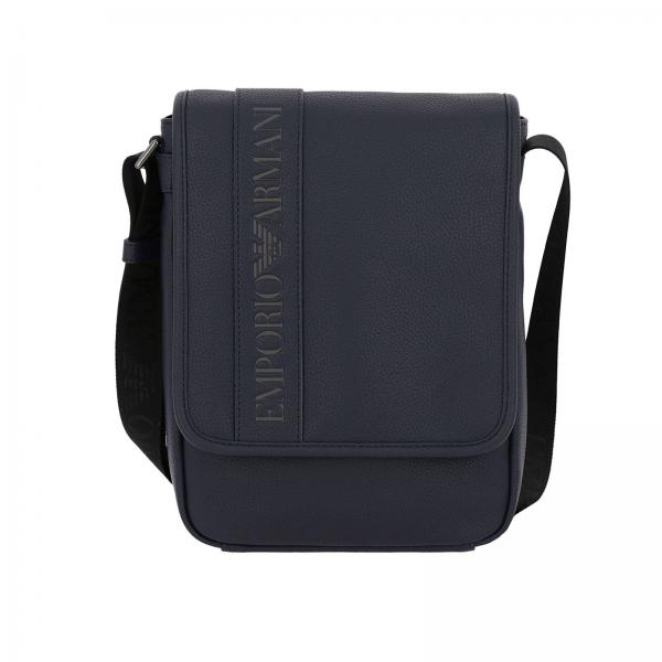 9d82a30367b1 Shoulder Bag Men Emporio Armani Blue