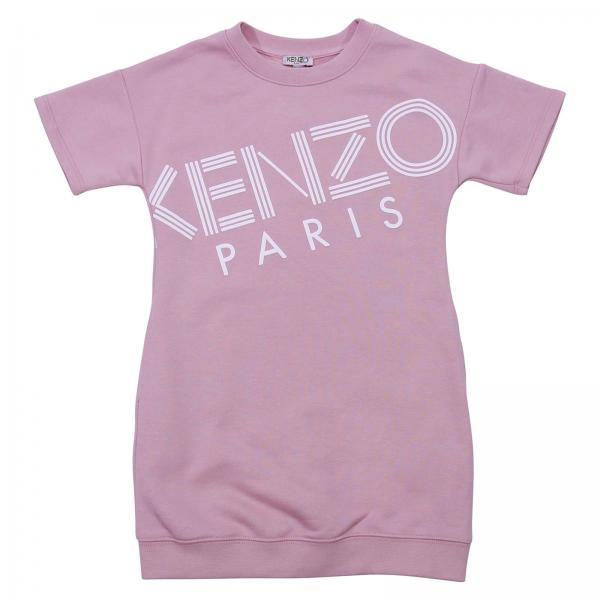 Kenzo Junior Little Girl s Pink Dress  87388492f565