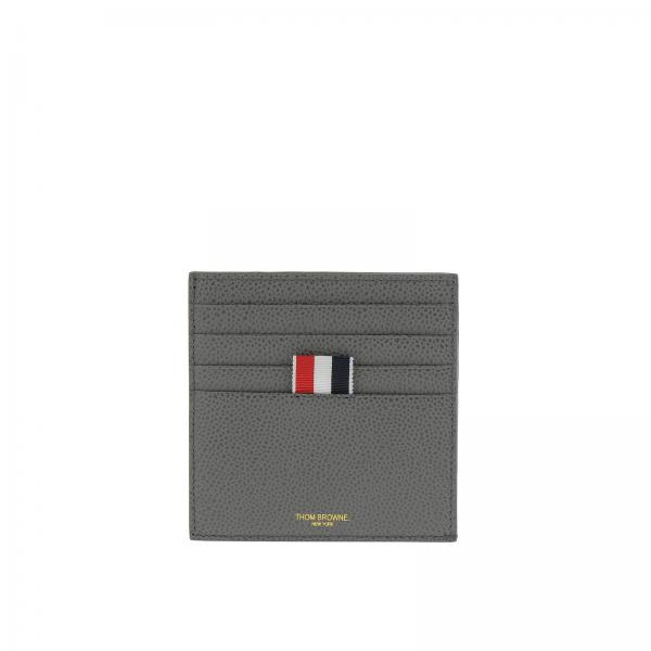 217b4015ac29 Thom Browne Men s Grey Wallet