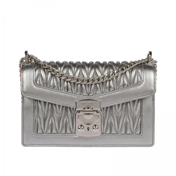 Miu Miu Women s Silver Coloured Crossbody Bags  ed1e74b639b34