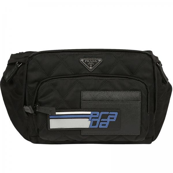 Prada Men S Black Shoulder Bag 2vl003 Oit 2be6 Giglio En