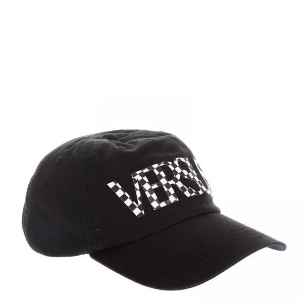 c80ca70e Hat Men Versus Black   Hat Men Versus   Hat Versace Buc0041 Bt10524 -  Giglio UK