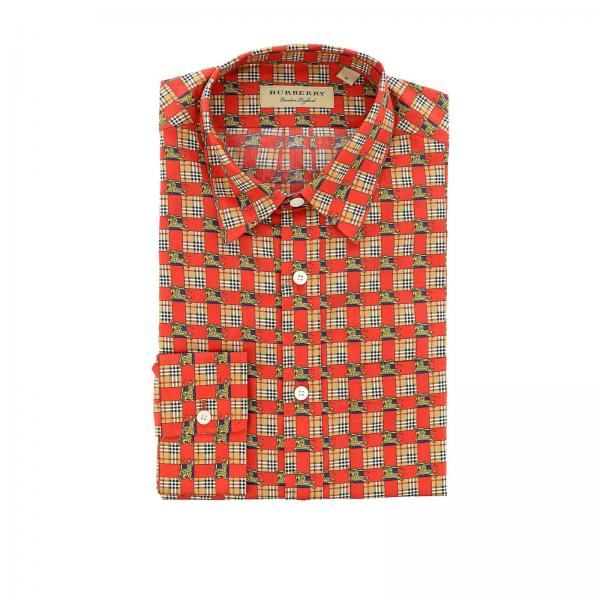 Chemise Homme Burberry Rouge Chemise Homme Burberry Chemise