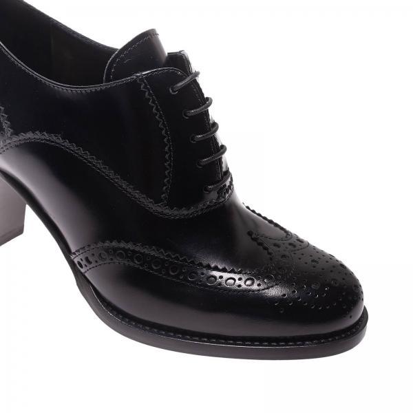 Mujer Negro De0135 9emgiglio Cordones De Continuativo Artículo Church's Zapatos q1Un4EySIO
