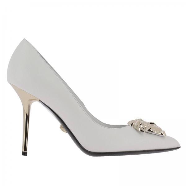 Versace Womens Gold High Heel Shoes High Heel Shoes Women Versace