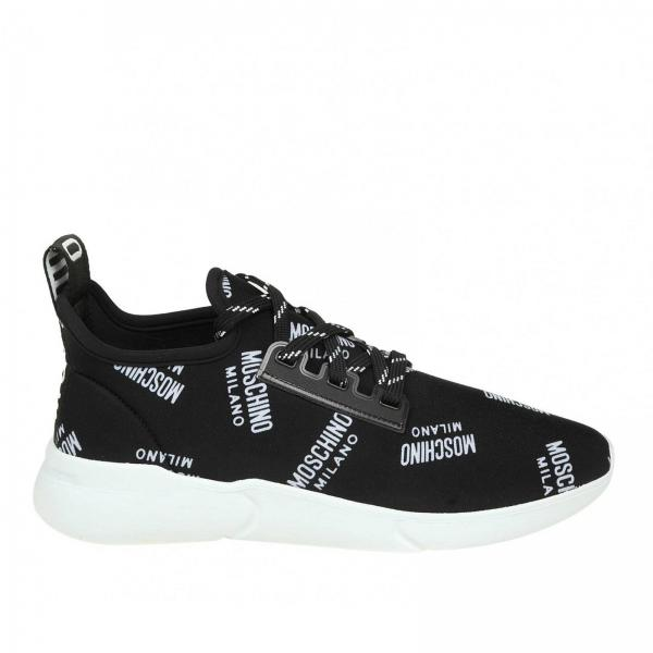 89adf748a482 Moschino Couture Women s Black Sneakers