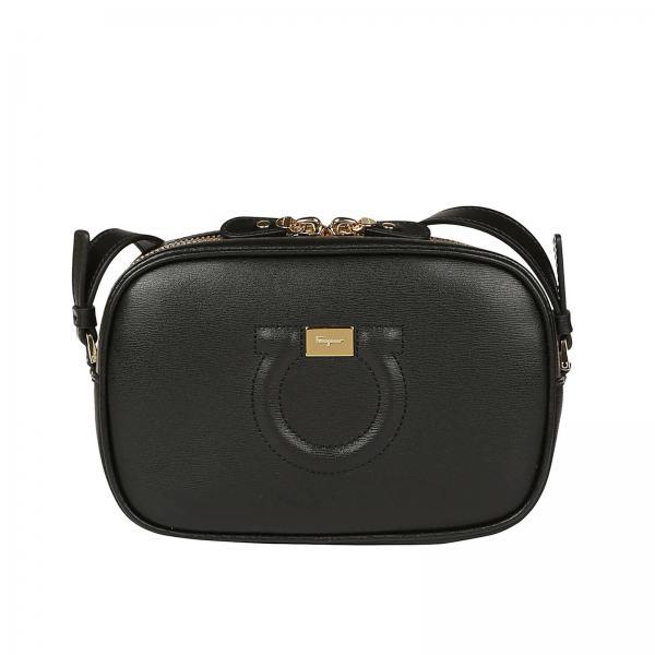 3c40d61c1346 Salvatore Ferragamo Women s Black Crossbody Bags