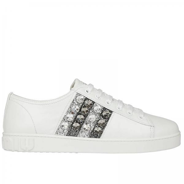 a02af4c71e06 Miu Miu Women s White Sneakers