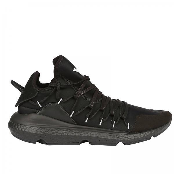 Y3 Yohji Yamamoto Men s Black Sneakers  bf2ac05b63f4