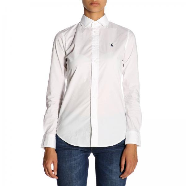 Polo Ralph Lauren Women s White T-shirt  318e0849c5b7
