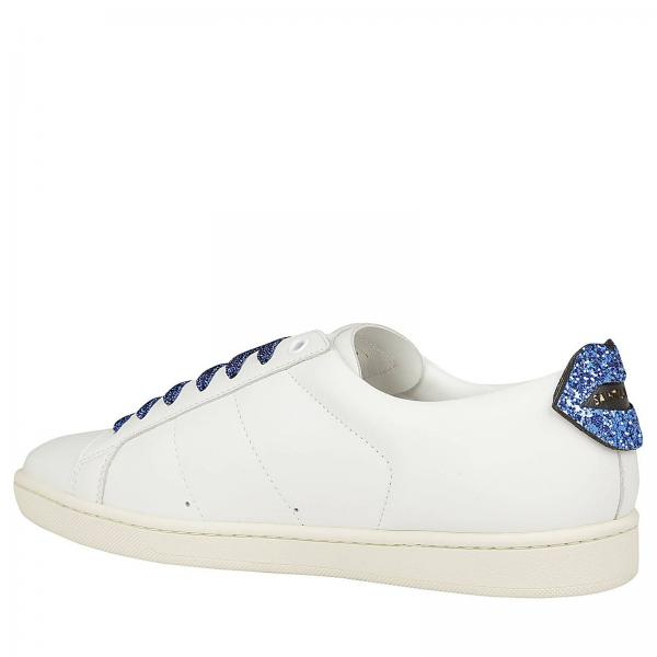 Laurent Liscia Pelle In Saint Glitter Bocca Con Maxi By Sneakers DEIH29