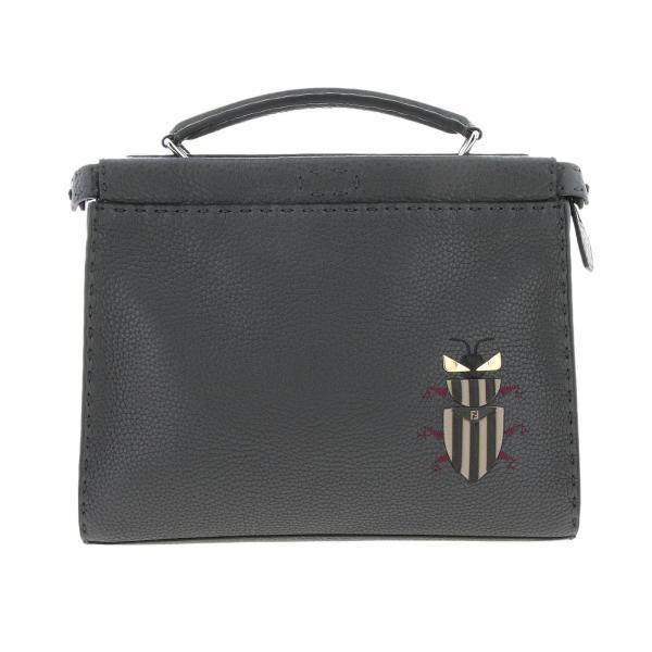 Fendi Men s Grey Backpack  cd927483cf657