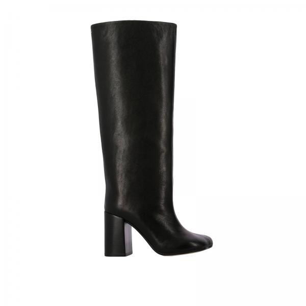 bf07e3ff1d7 Mm6 Maison Margiela Women s Black Boots