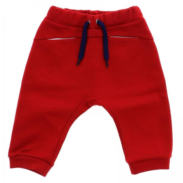 Pantalone jogging stretch con bande logate
