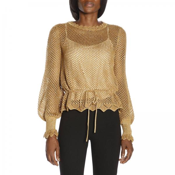 13f8528b0a Sweater Women Twin Set Gold
