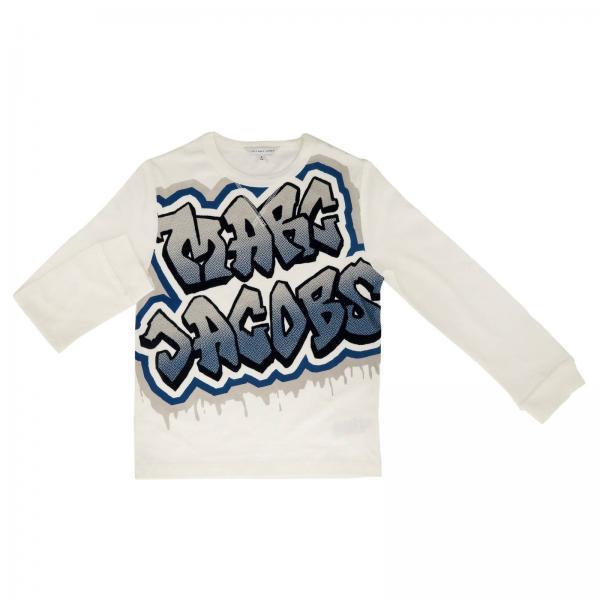 Little Marc Jacobs Little Girls White Sweater Sweater Kids Little