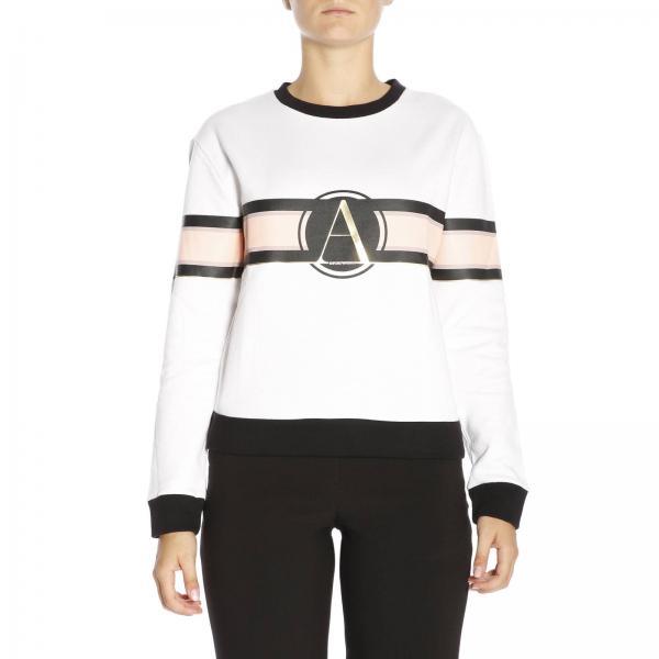 6ca0967767a2 Sweat-shirt Femme Emporio Armani Blanc