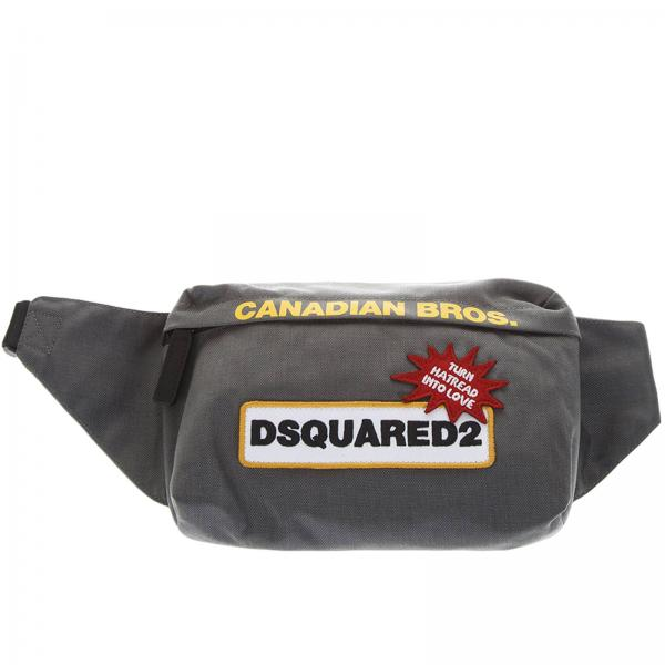 d00bc77cb9 Sac Homme Dsquared2 Gris | Sac Homme Dsquared2 | Sac Dsquared2  Bbm000211701118 - Giglio FR