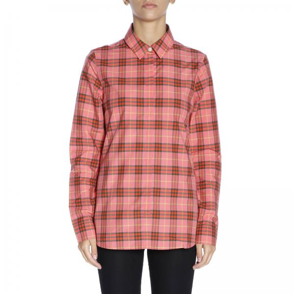 Shirt Women Burberry Coral  58e0f41bc3