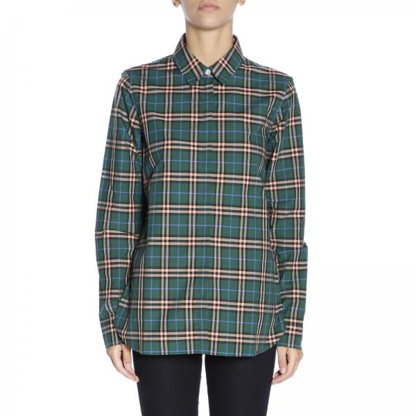 Shirt Women Burberry Green  47e0a8ca9e