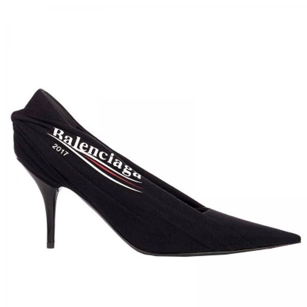 992f980aa348 Flat sandals Women Balenciaga Black
