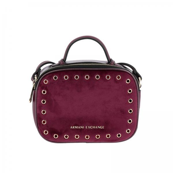 1a59d417cdd6 Armani Exchange Women s Burgundy Handbag