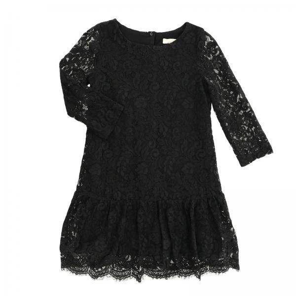 5419154e3d82 Monnalisa Jakioo Little Girl s Black Dress