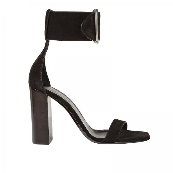 4a9352bc7051 Saint Laurent Women s Black Heeled Sandals