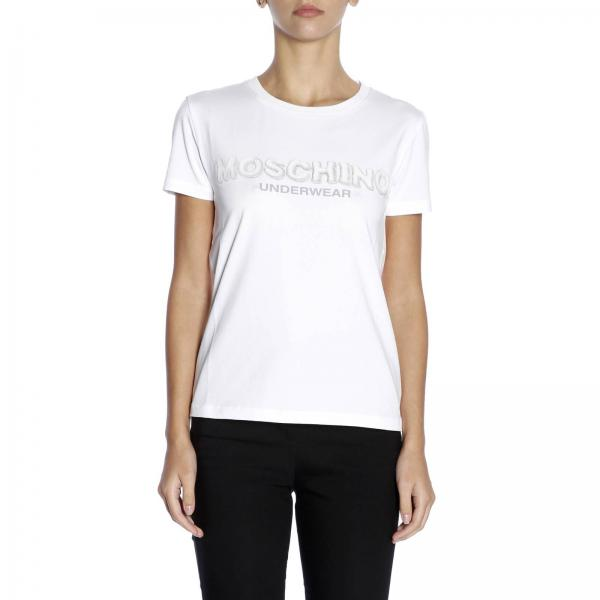 d45d12642bb42 Moschino Underwear Women s White T-shirt