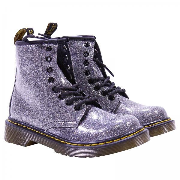 Обувь для мальчиков DR. MARTENS Серебряный  02742bc8f8825