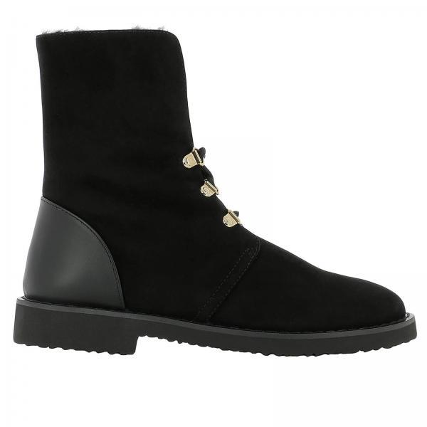 Giuseppe Zanotti Design Women s Black Heeled Booties  e54af5943