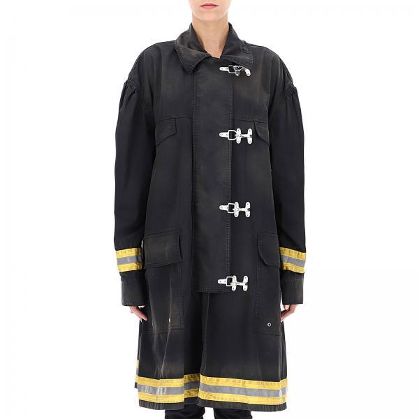 Cappotto Donna Calvin Klein 205w39nyc Nero  539b61601cc3