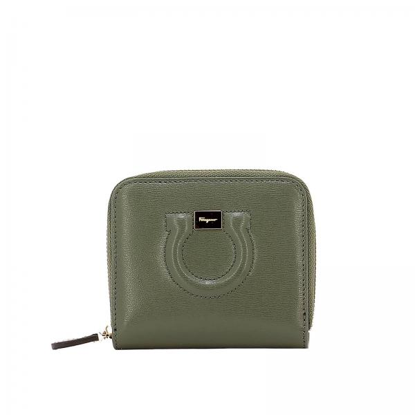 79b4662a8885 Salvatore Ferragamo Women s Green Wallet
