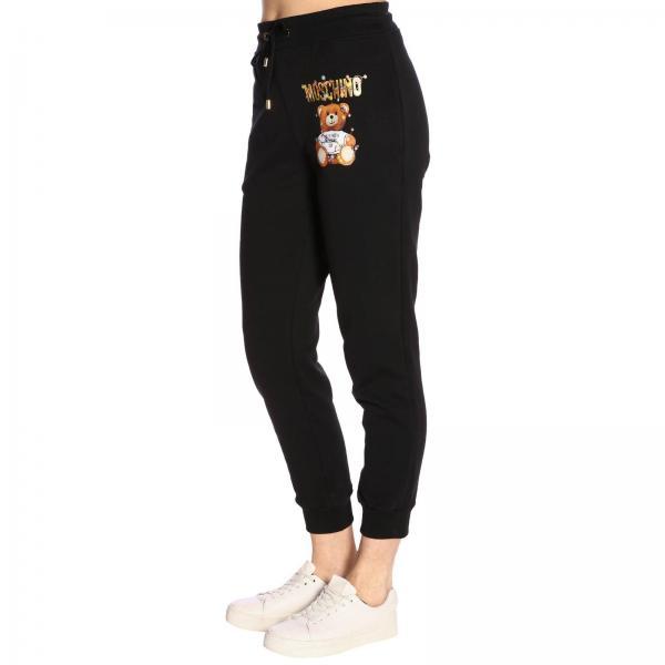 2019 Mujer Couture 0398 Moschino Pantalón Primavera Negro 4027giglio verano 6gx4AwUq