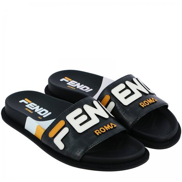 2019 verano 8x6638 Fendi Planos Mujer Zapatos Ak18giglio Primavera gqU1WBw