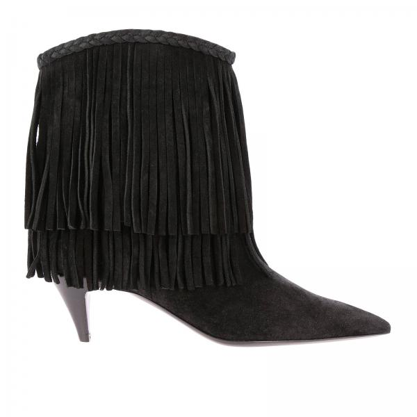 Heeled ankle boots Saint Laurent