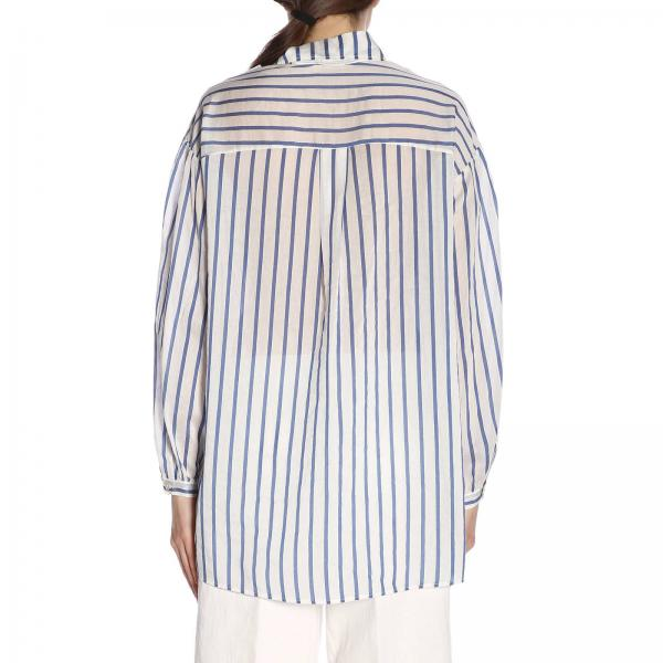 Mujer 2019 Forte Primavera verano Camisa Blue 6053 Myshirtgiglio 0qf0zdw