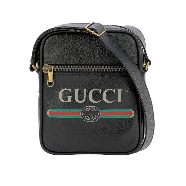 enorme sconto 0754d 5bd33 Borsa A Tracolla Gucci Uomo | Borsa A Tracolla Uomo Gucci 523591 ...