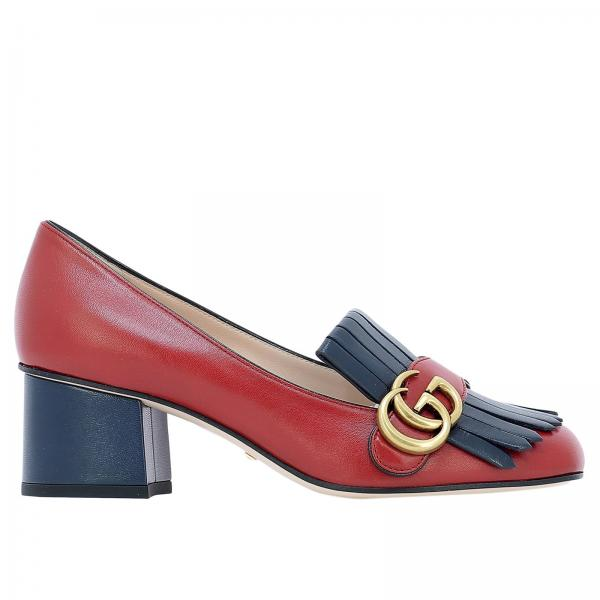 6f21166cc444 Chaussures Femme Gucci Rouge   Chaussures Femme Gucci   Chaussures Gucci  408208 C9d10 - Giglio FR