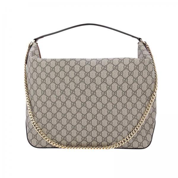 f14133f3285 Sac porté épaule Femme Gucci Beige