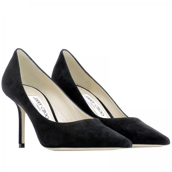 Mujer 2019 Jimmy Zapatos Primavera Salón De 85 Suegiglio Love verano Negro Choo Fw6OHTqw