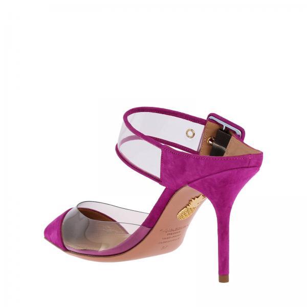 Primavera Mujer Aquazzura 2019 Zapatos Planos verano Fucsia Optmidm0spvgiglio w6XwAax