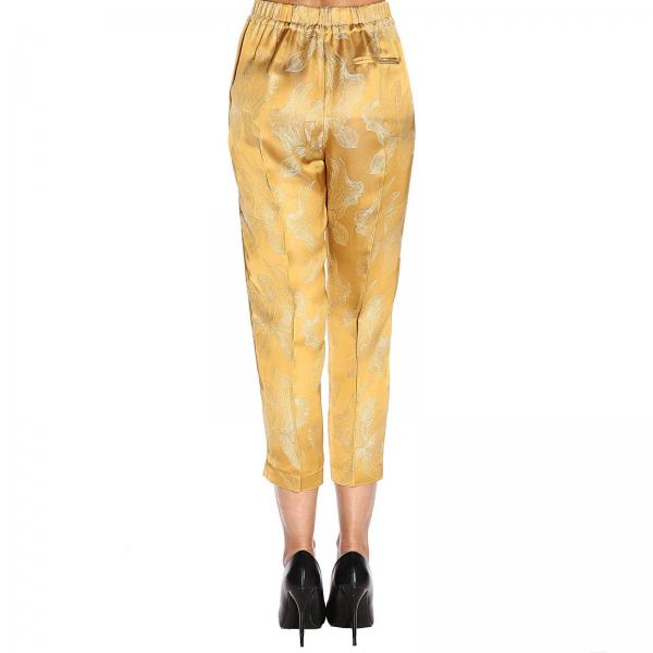 6017 Con Coulisse Pantalone Fantasia Donna ForteIn A Tessuto Floreale USpqzVLMG