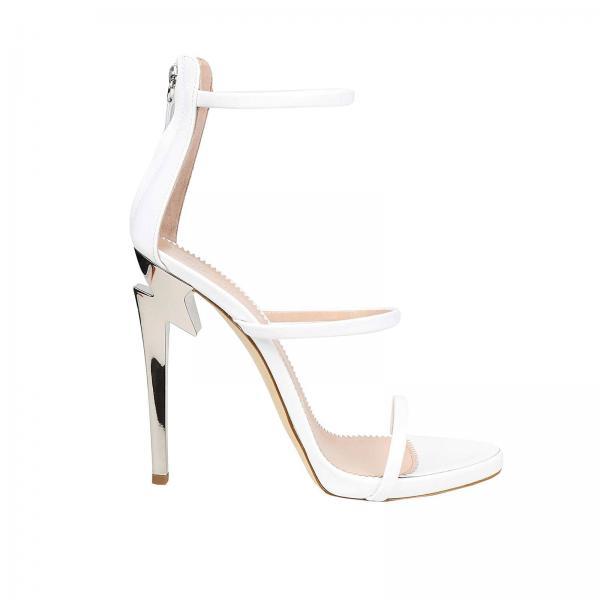 Heeled sandals Women Giuseppe Zanotti Design White  9b1bdd86fa