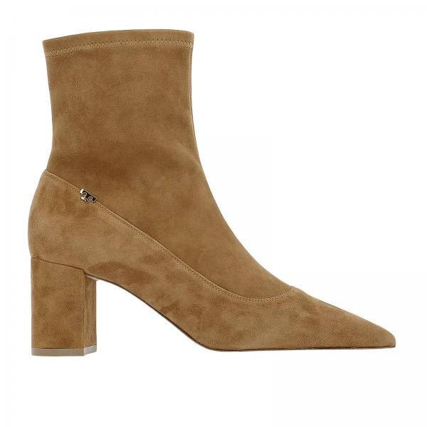 589fb31564c5 Tory Burch Women s Camel Heeled Booties
