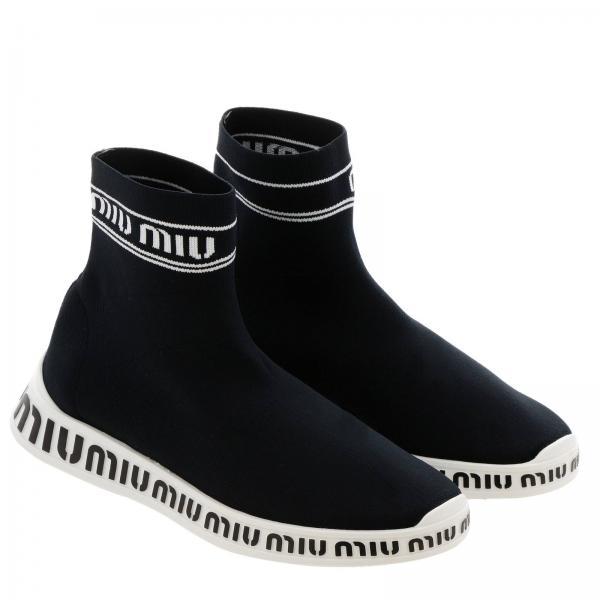 Negro verano Zapatillas Miu 2019 5t070c Mujer Primavera 3kjrgiglio HqTqA6x