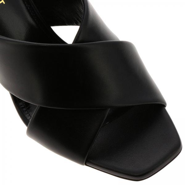 472035 verano De Negro Tacón Mujer Sandalias Primavera Saint 2019 Laurent Akpvvgiglio YTxZz
